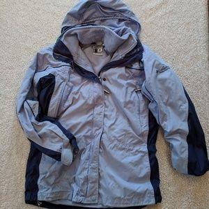 Columbia womens core interchangeable coat